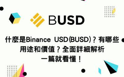 什麼是Binance USD(BUSD)?有哪些用途和價值?全面詳細解析 一篇就看懂!